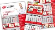 Разработка и печать календарей на 2020 год