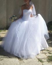 Красивое, нежное свадебное платье продам!!!